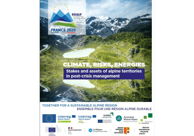 4. EUSALP Energiekongress 30.9.-1.10.: Climate, Risks, Energies