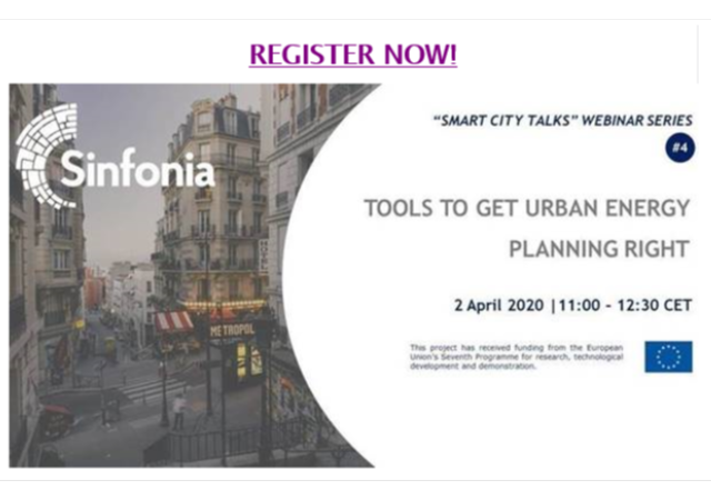 Sinfonia Webinar: Tools to get urban planning right, 2 april 2020