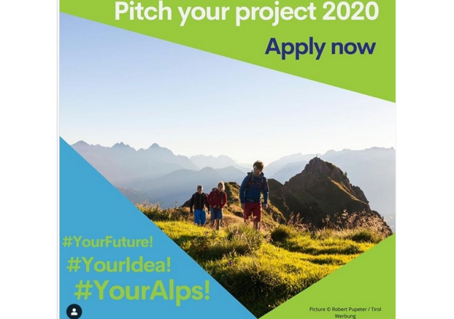 Pitch your project! Youth shaping EUSALP